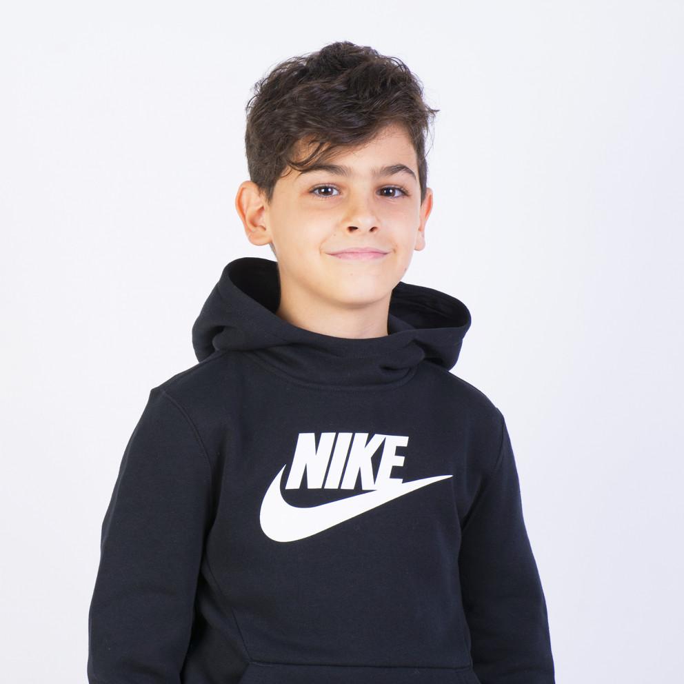 Nike Spring Club Παιδικό Μπλούζα με Κουκούλα