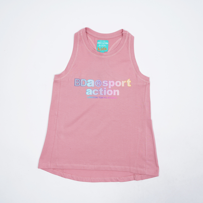 Body Action Girls' Racer Tank Top (9000050111_2132)