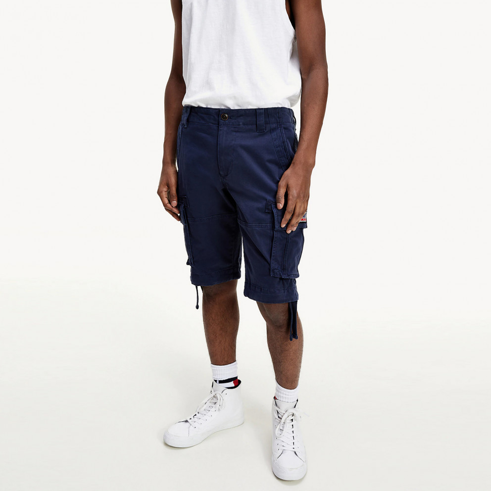 Tommy Jeans Men's Solid Cargo Shorts