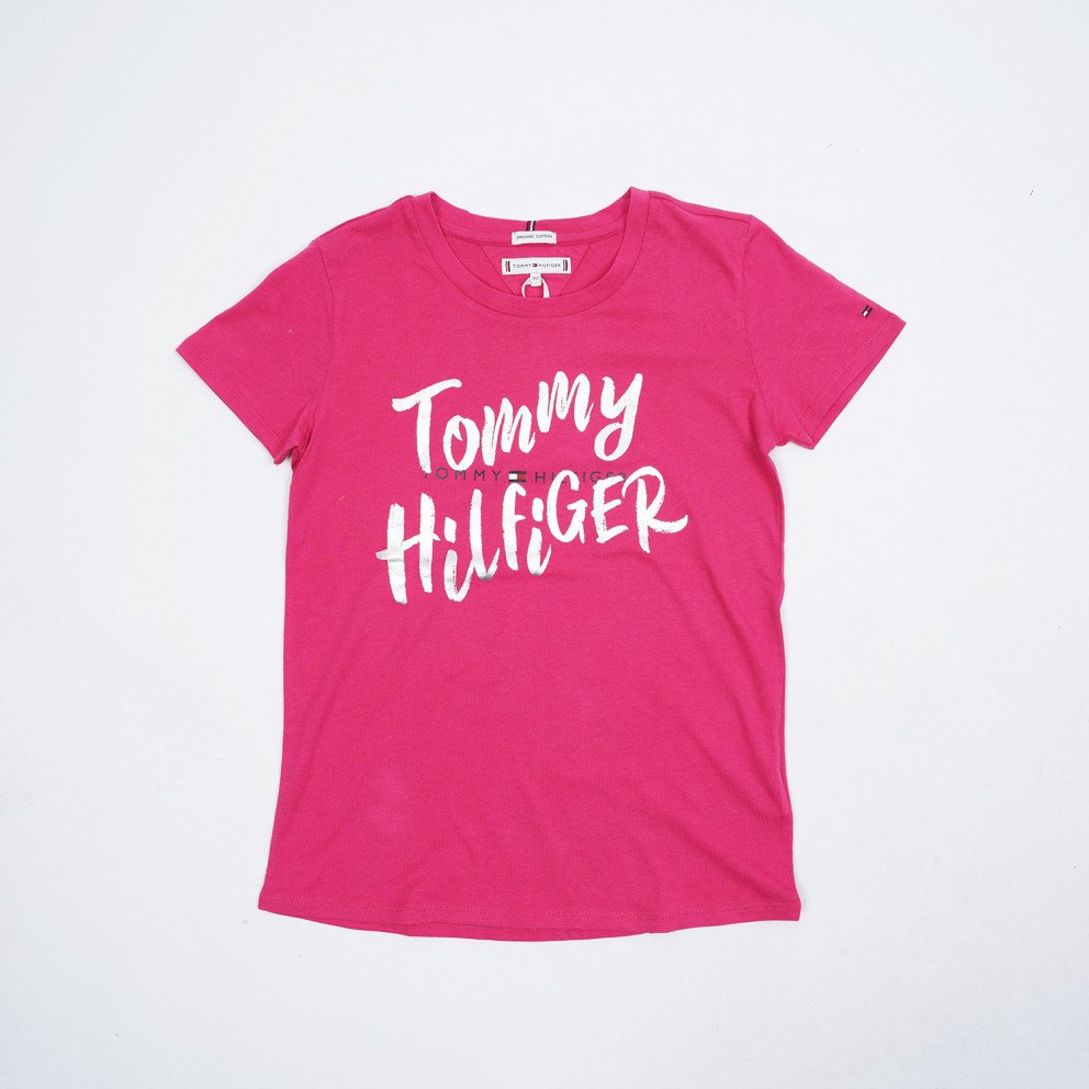 Tommy Jeans Double Graphic Logo Kids' Tee
