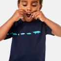 Lacoste Boy'S Croc-Print Cotton T-Shirt