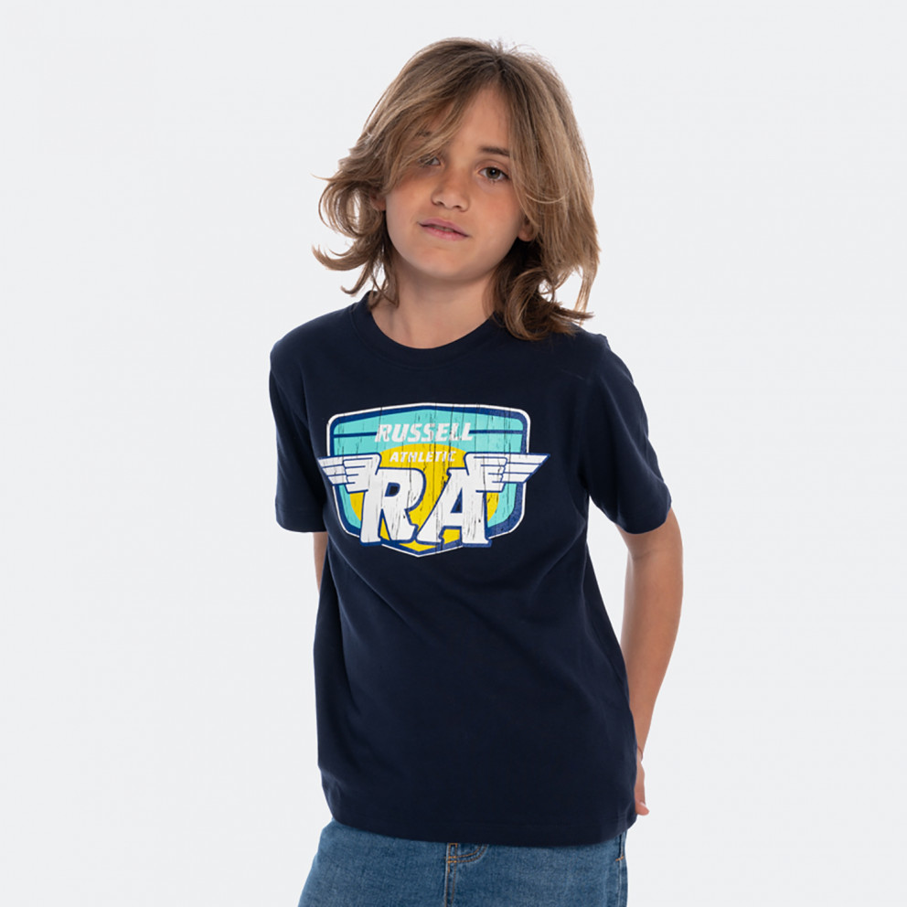 Russell Athletic Wings Crewneck Kids' Tee