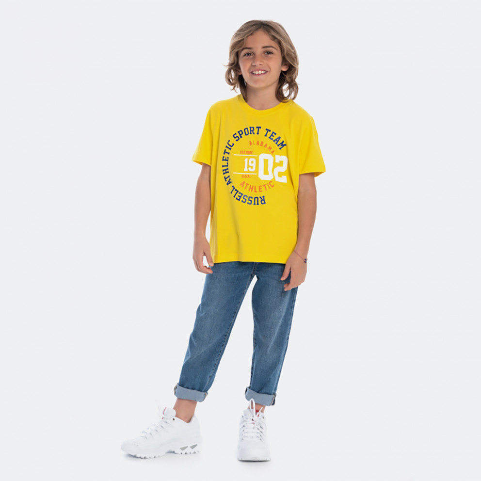 Russell Athletic American Kids' Graphic Tee
