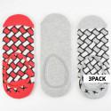 Happy Socks 3-Pack Liner Sock