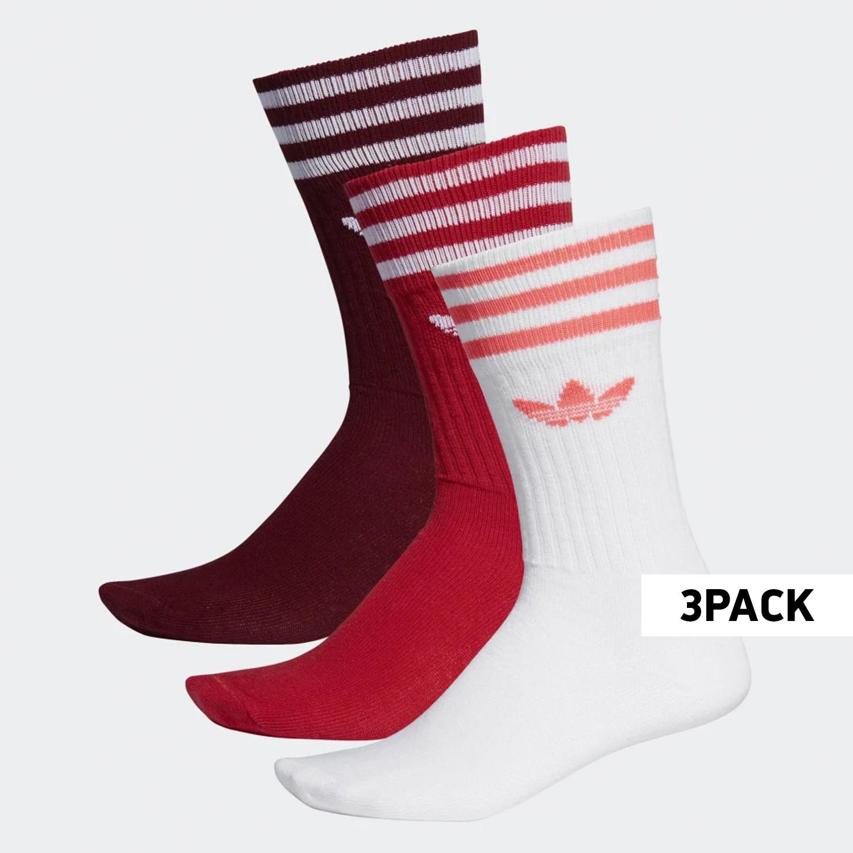adidas Originals 3 Pairs Unisex Crew Socks - Unisex Κάλτσες (9000031747_39440)