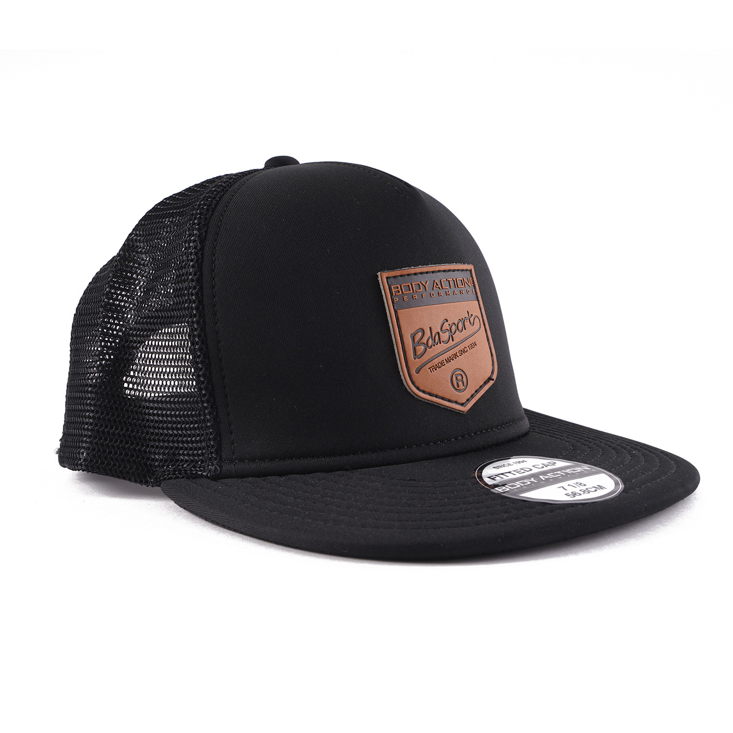 Body Action Flat Unisex Trucker Cap (9000050132_1899)