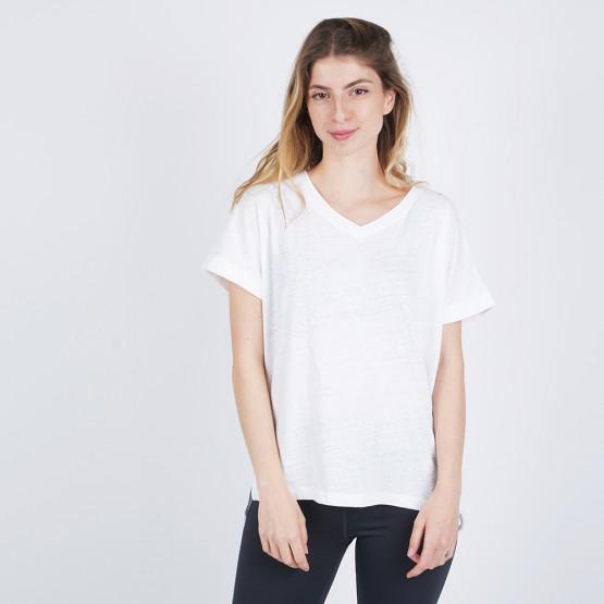Body Action Crunch V-neck Women's T-shirt