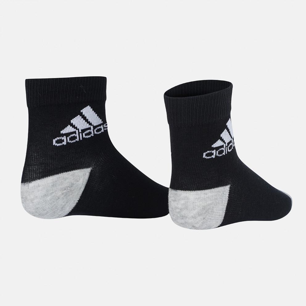 adidas Performance 3-Pack Παιδικές Κάλτσες Αστραγάλου