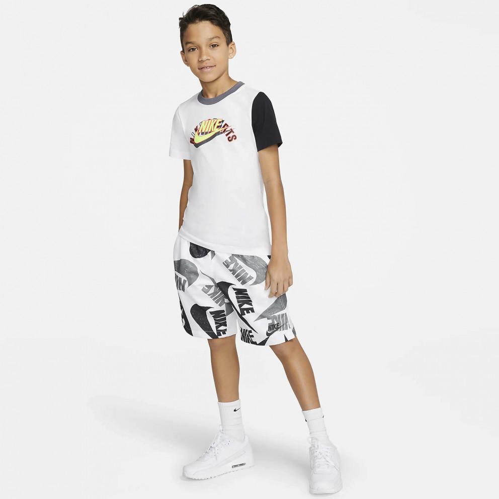 Nike Sportswear Boy's Woven Aop Short