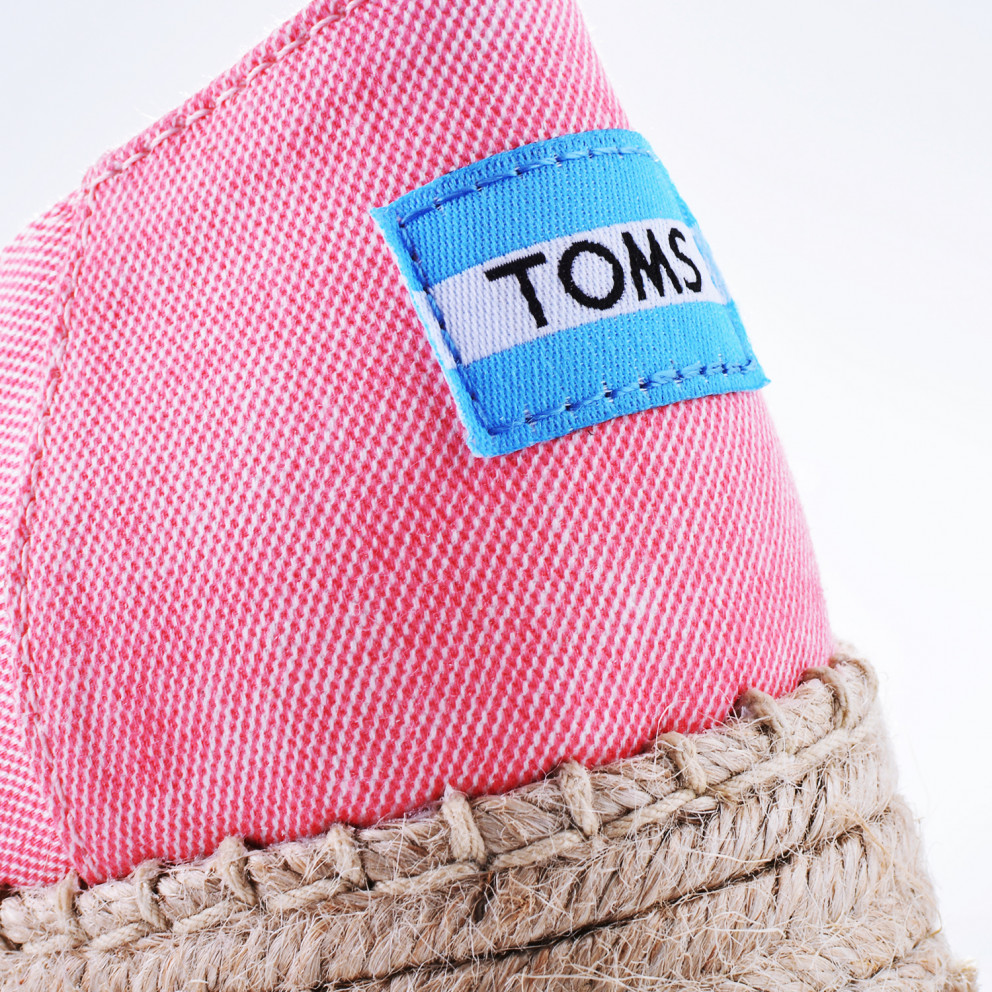 TOMS Coral Washed Twill Wm Otplalp Esp