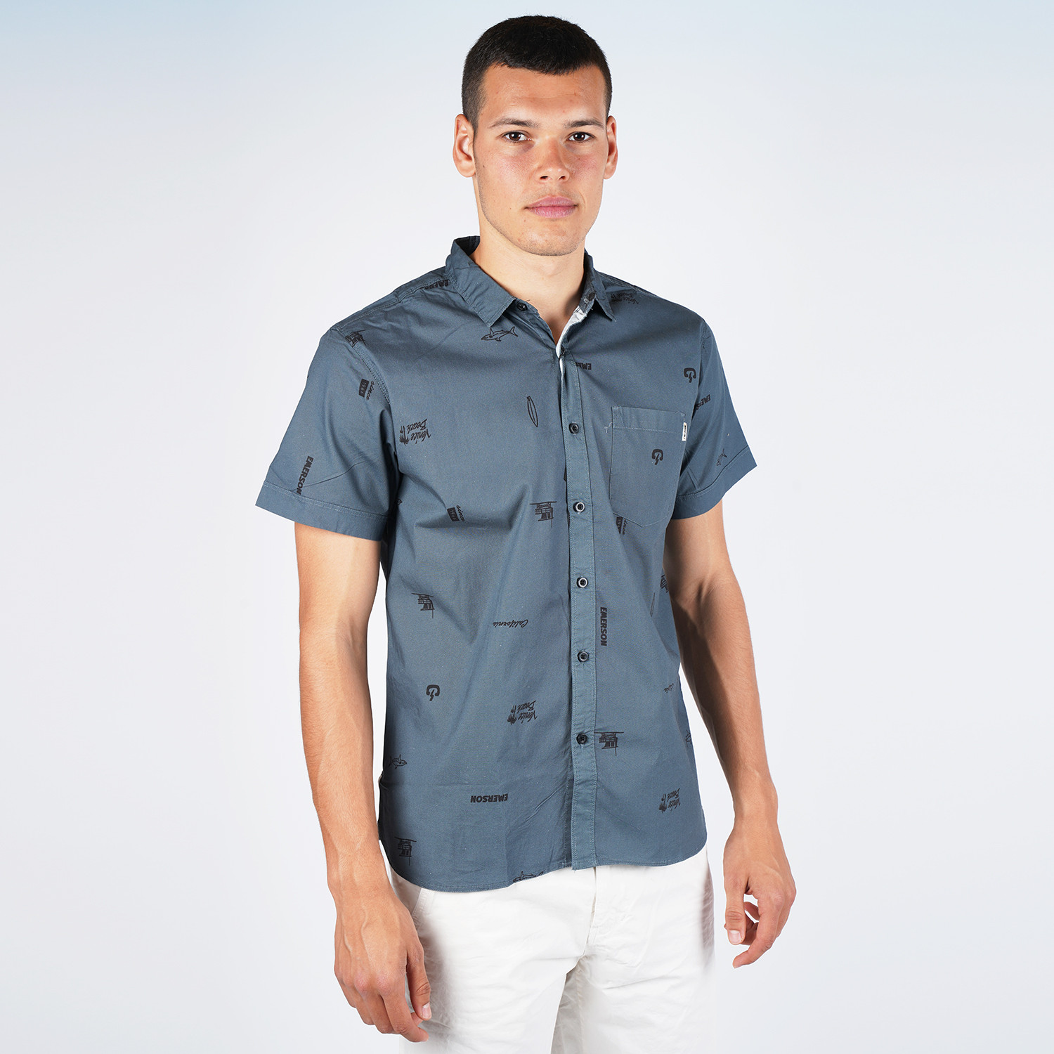 Emerson Men's S/s Shirts (9000048644_43932)