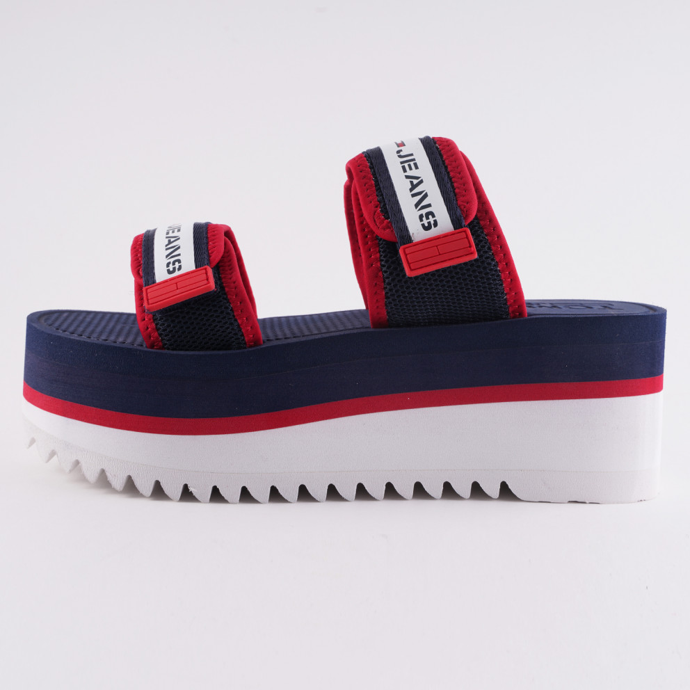 Tommy Jeans Chunky Tape Women's Flatform Sandals