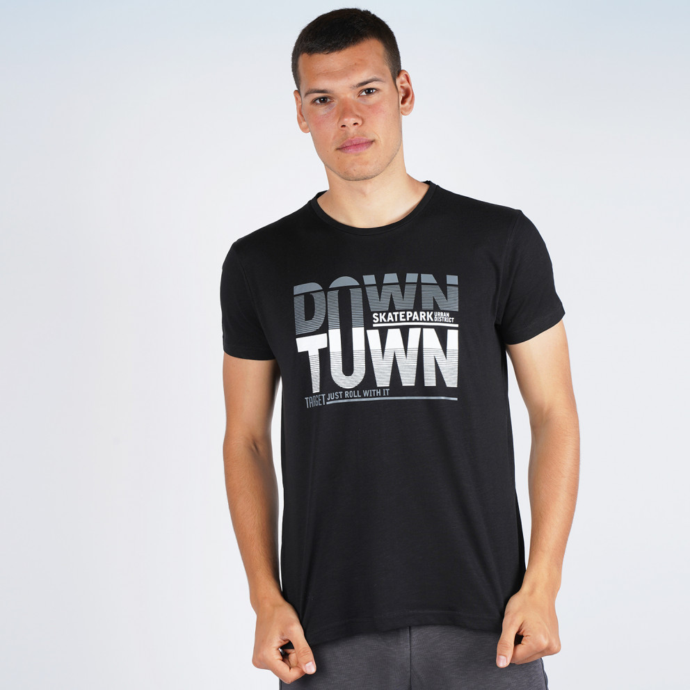 "Target T Shirt K/m Καλτσα Φλαμα ""down Town"""