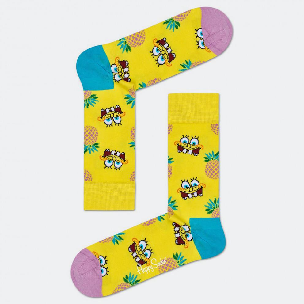 Happy Socks Sponge Bob Fineapple Surprise Sock