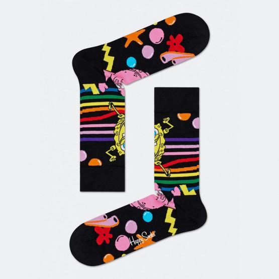 Happy Socks Sponge Bob Bubble In Paradise Sock