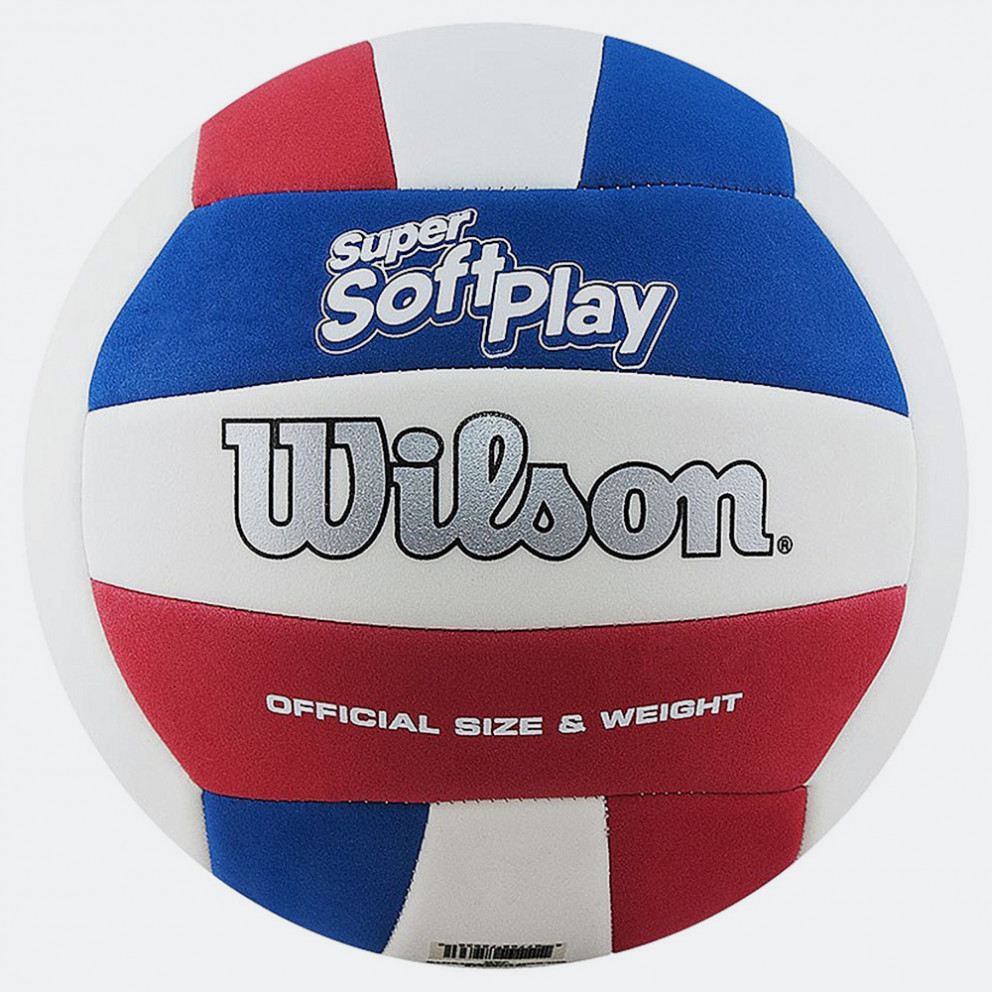 Wilson Super Soft Play Vb Whrdblue Νο5 Beach Volley