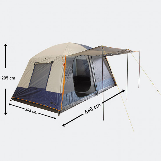 Panda Outdoor Portal Camping Tent  460 X 260 X 205 Cm