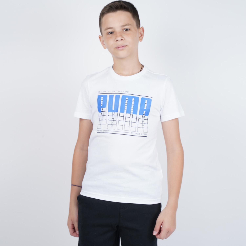 Puma Active Sports Graphic Boy's Tee (9000047494_44107)