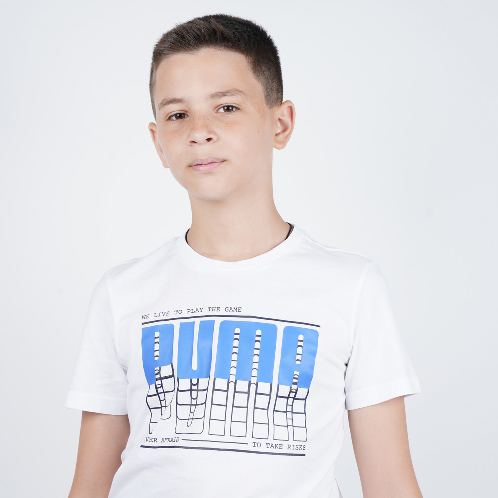 Puma Active Sports Graphic Boy's Tee