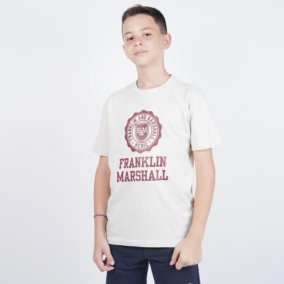 Franklin & Marshall F and M Logo Tee