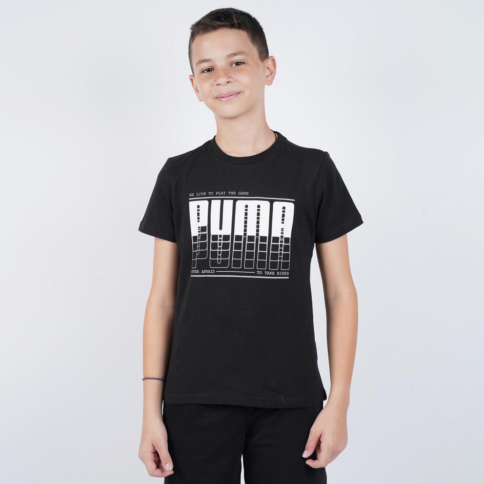 Puma Active Sports Graphic Boy's Tee
