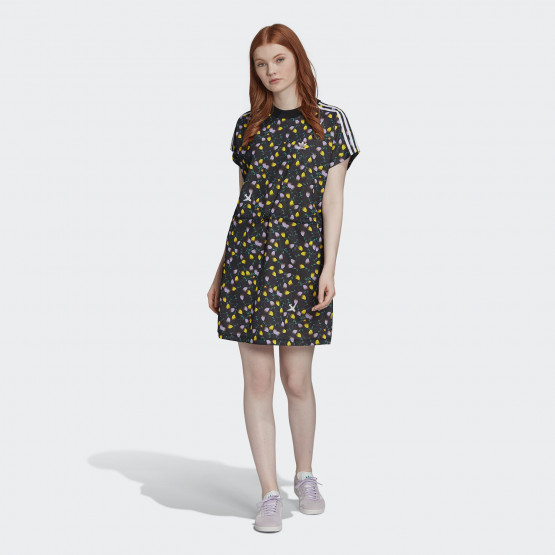 adidas Originals Women's All Over Print Tee Dress