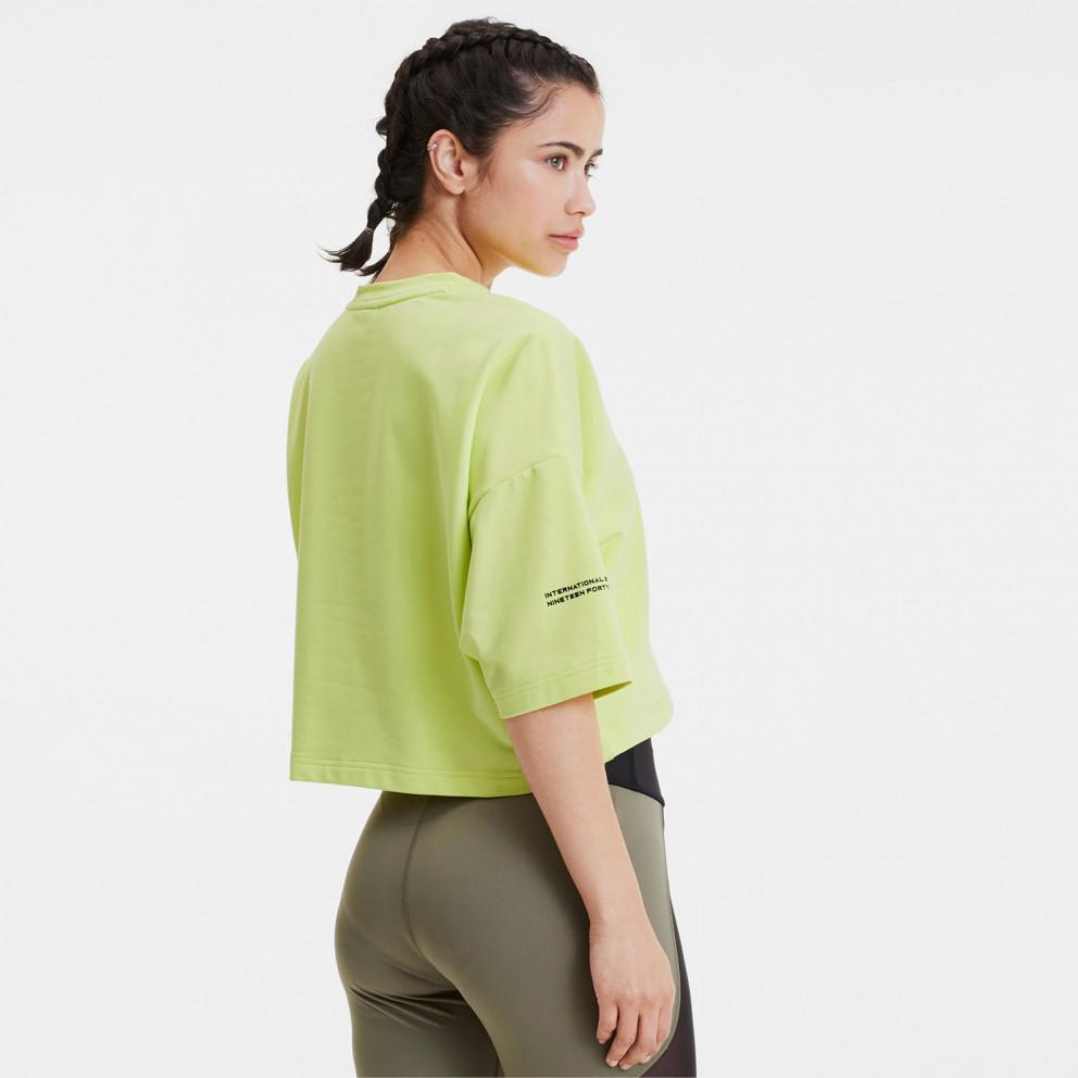 Puma Evide Form Stripe Women's Crop Tee