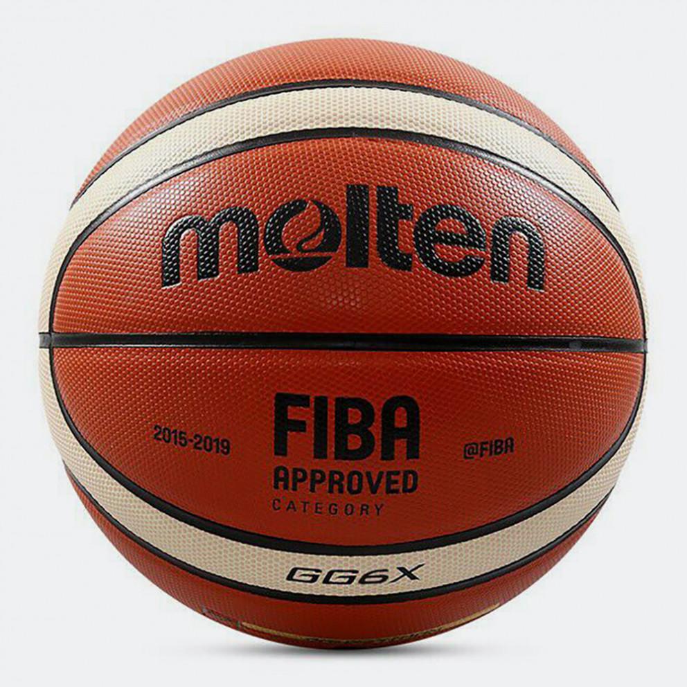 Molten Μπάλα Μπάσκετ Indoor Leathern No 6