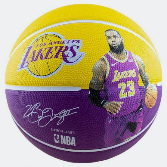 Spalding Basketball Lebron James Lakers No. 7