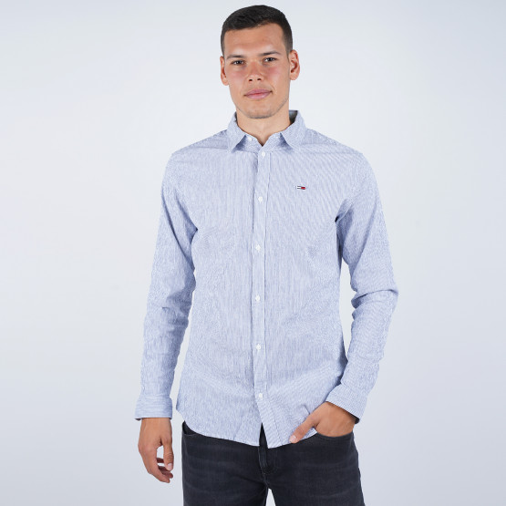 Tommy Jeans Seersucker Multi Men's Shirt