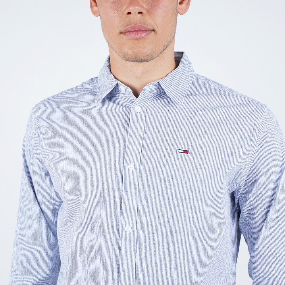 Tommy Jeans Seersucker Multi Men's Shirt