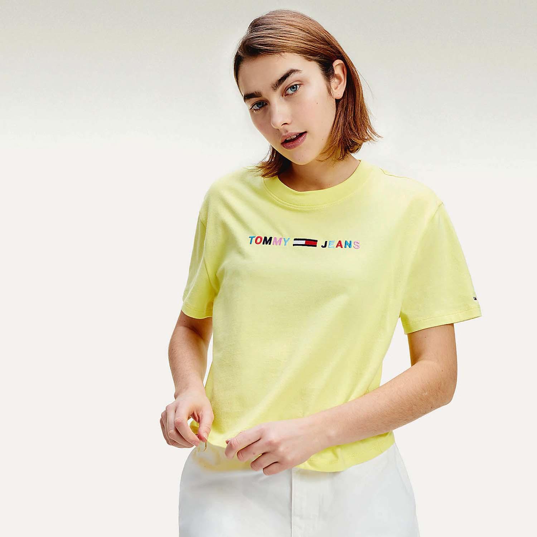 Tommy Jeans Colored Linear Logo Γυναικεία Μπλούζα (9000050999_45083)