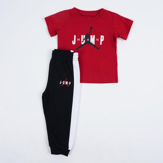 Jordan  Jump Ss Tee And Jogger Set Παιδικό Σετ