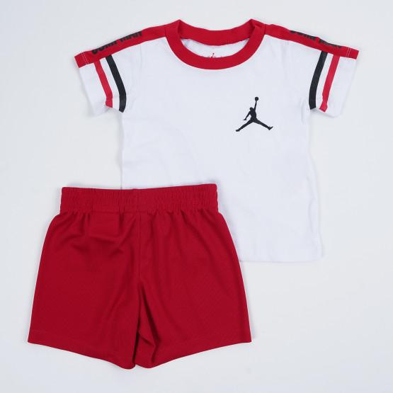Jordan Jump Elevate Tee Short Set Παιδικό Σετ