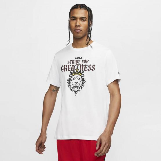 Nike Sportswear Lebron Dry Tee Lion Logo Ανδρική Μπλούζα