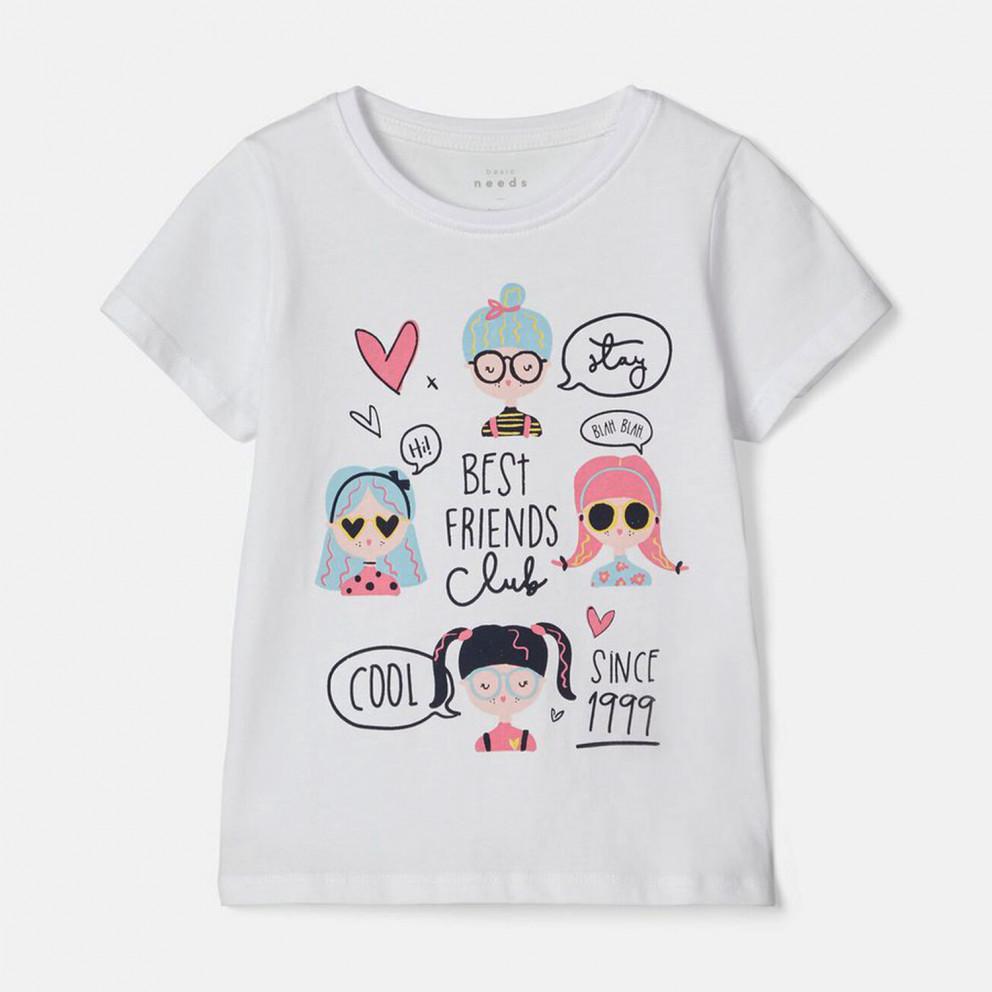 Name it T-Shirt Fem Knit Oco100  Kid's T-Shirt