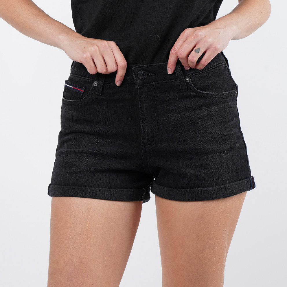 Tommy Jeans Mid Rise Denim Woman Short