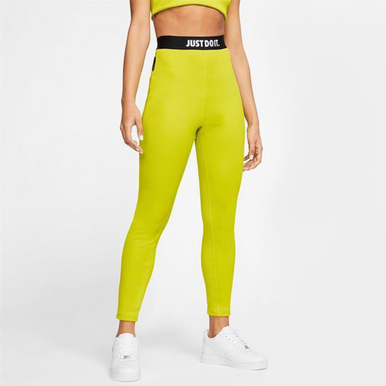 Nike Sportswear Women's Rib Tights Γυναικείο Κολάν 7/8