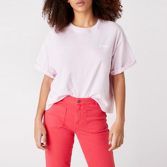 Wrangler Summer Tee Lilac Ice Γυναικεία Μπλούζα