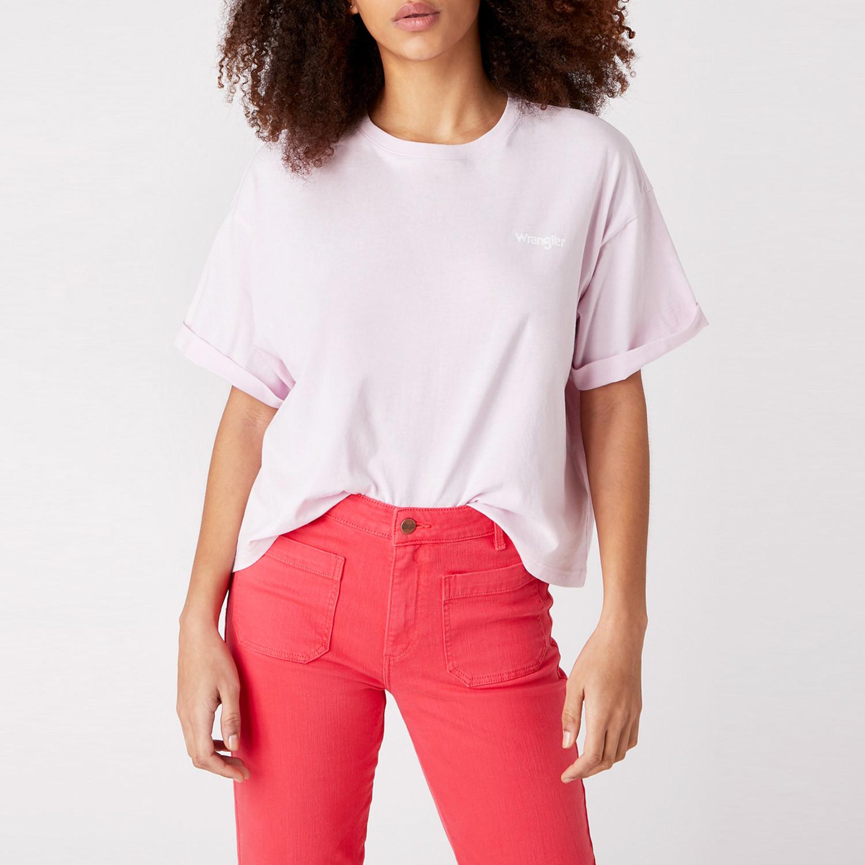 Wrangler Summer Tee Lilac Ice Γυναικεία Μπλούζα (9000049992_44758)