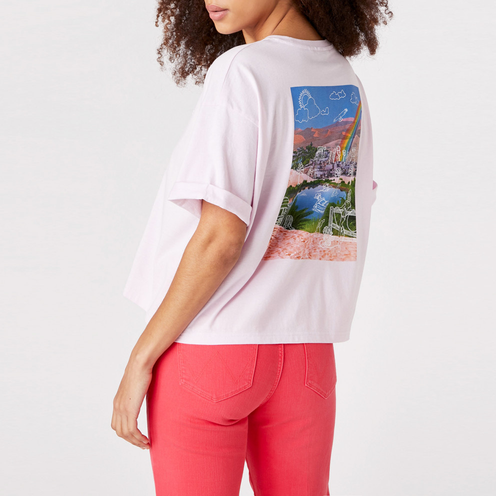 Wrangler Summer Woman Tee Lilac Ice