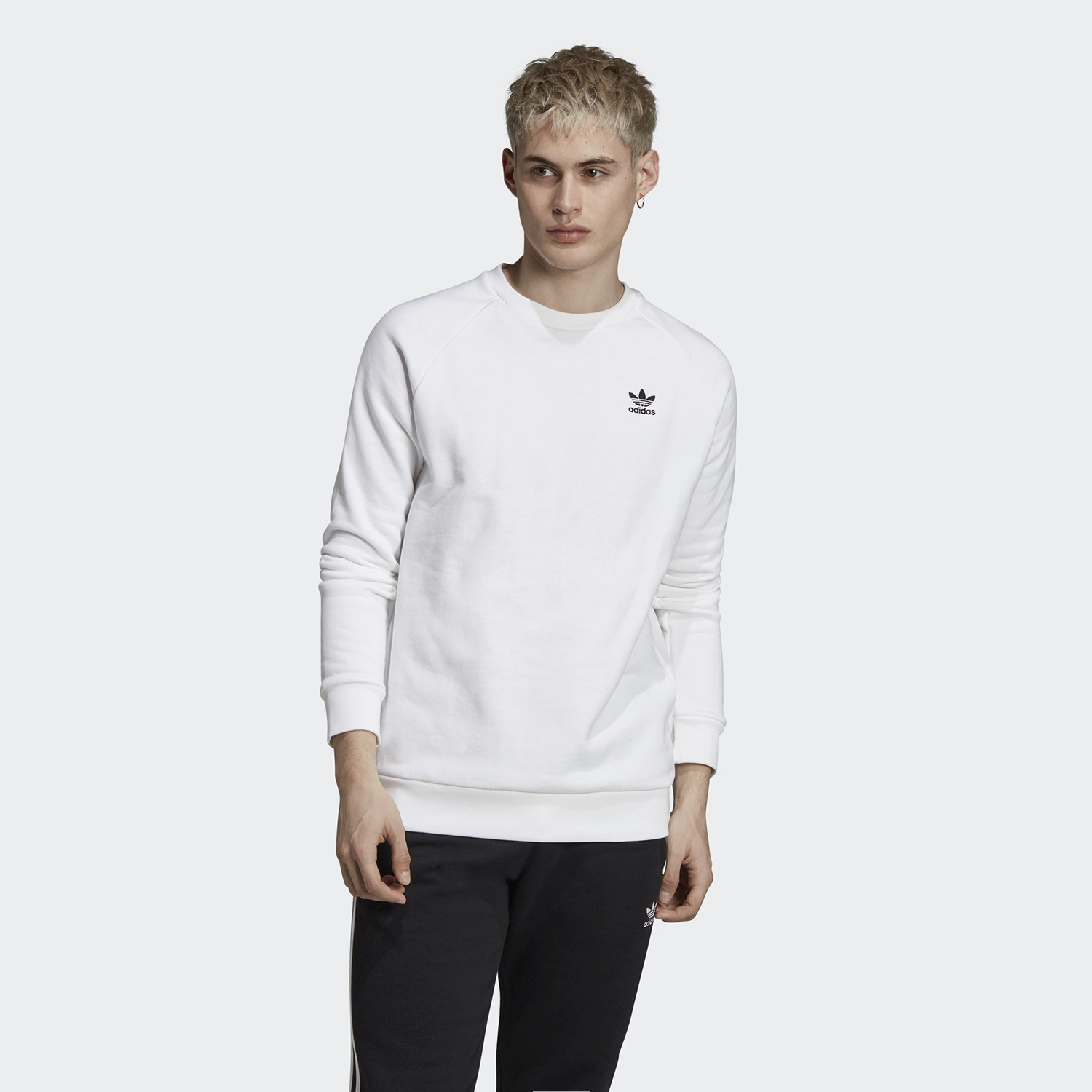 adidas Originals Essential Crew Ανδρική Μπλούζα (9000058719_1540)