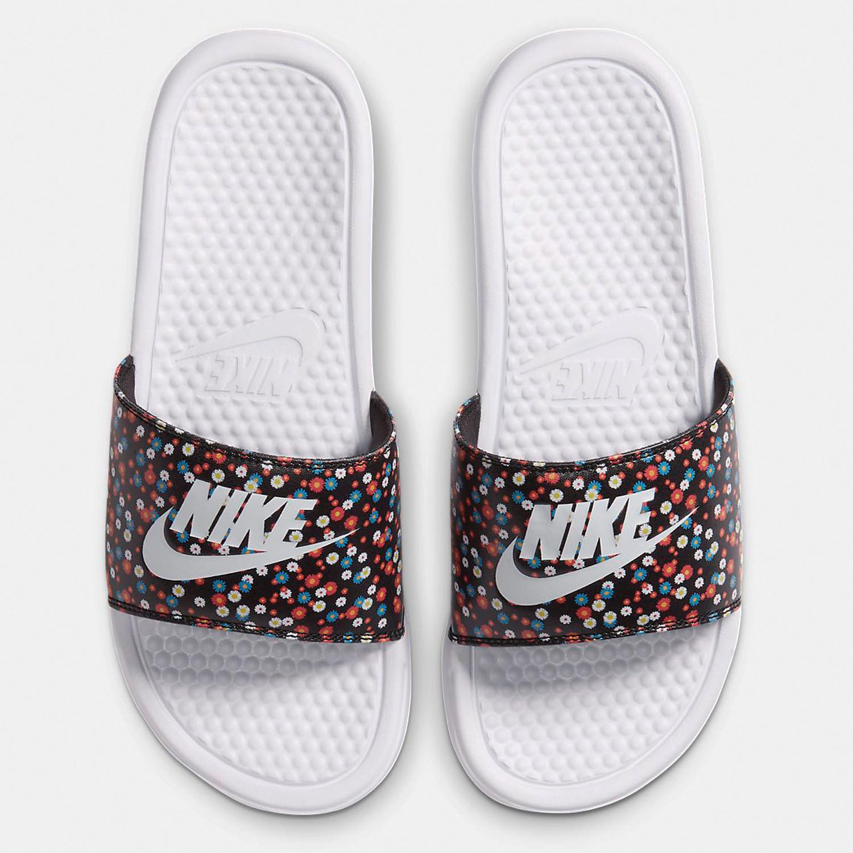 Nike Benassi JDI Print Γυναικείες Slides (9000053053_45610)