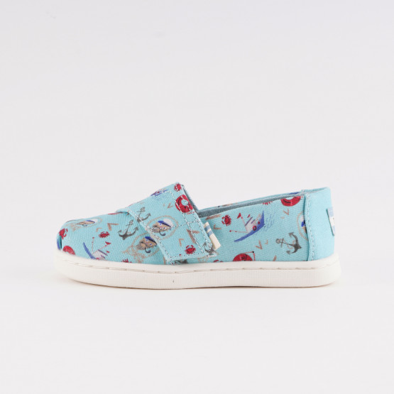 TOMS Cnl Blue Sea Legs Pt Tn Alpr Παιδικές Espadrilles