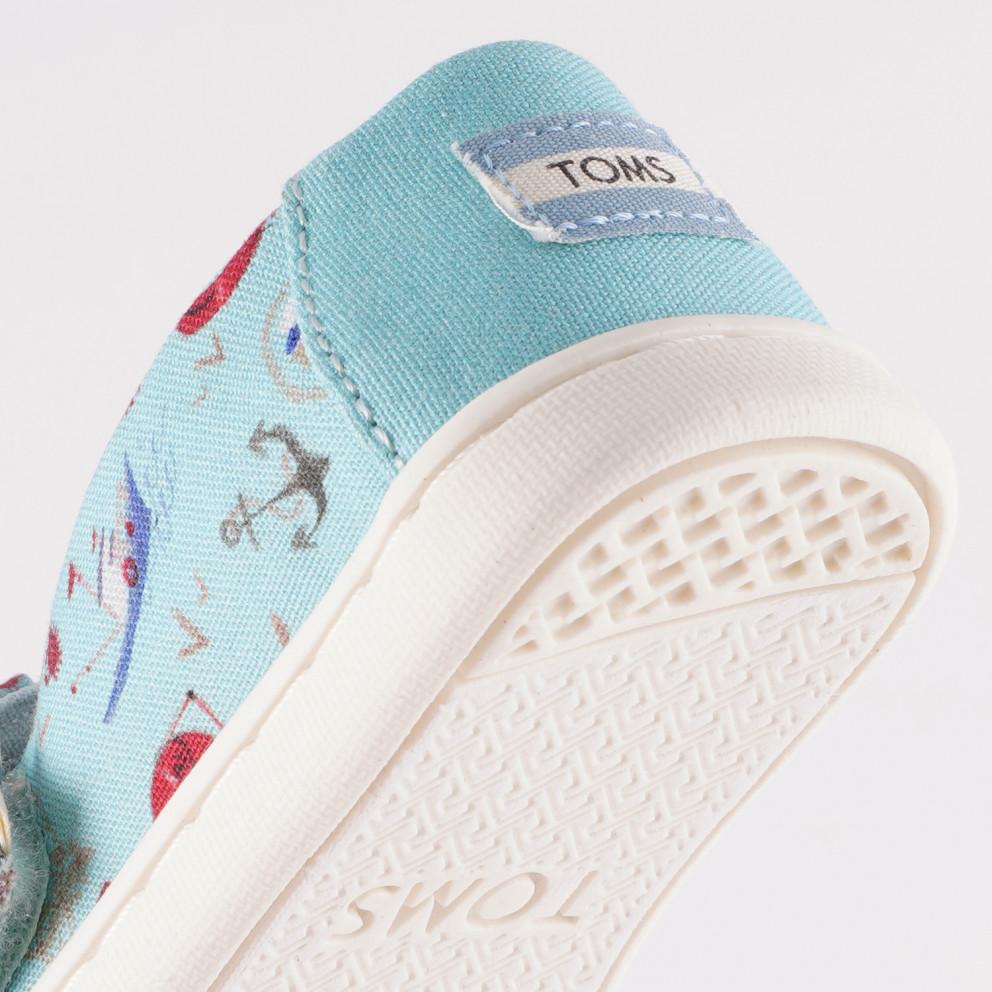 TOMS Cnl Blue Sea Legs Pt Tn Alpr Espadrilles