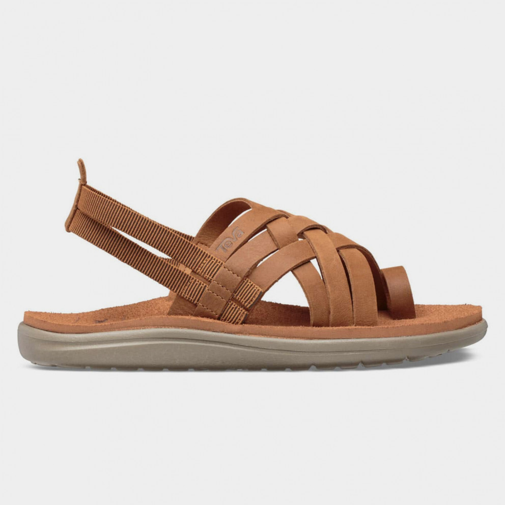 Teva Voya Strappy Leather Woman Sandals