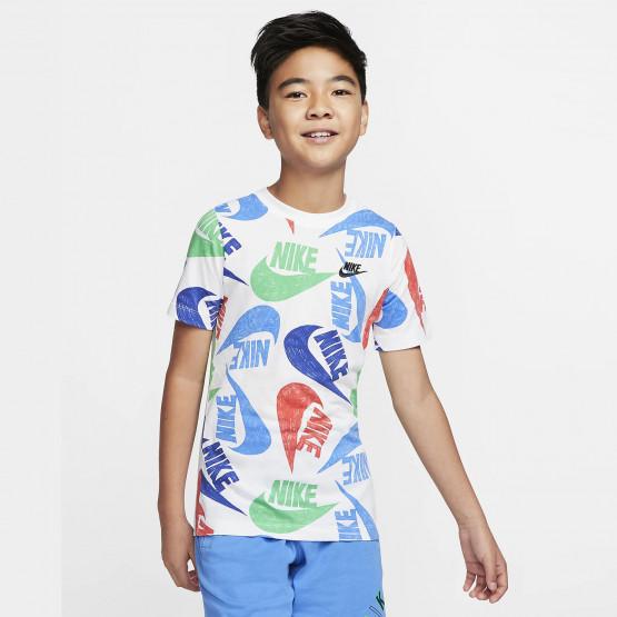 Nike Sportswear Kids' Tee Fw Marker Mash