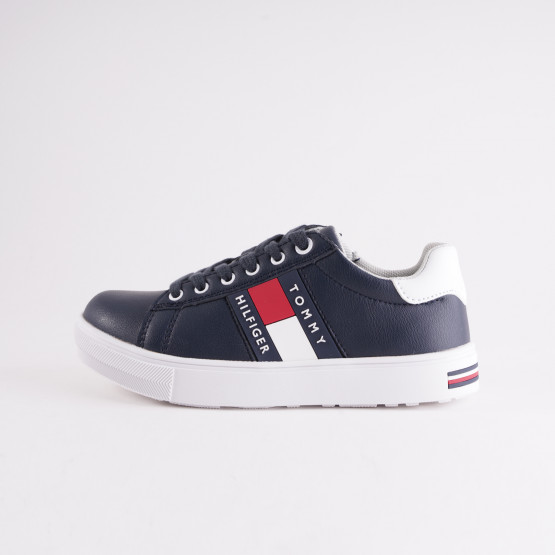 Tommy Jeans Low Cut Lace-Up Sneakers