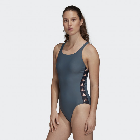 adidas Performance Women's Fit Taped Swimming Suit