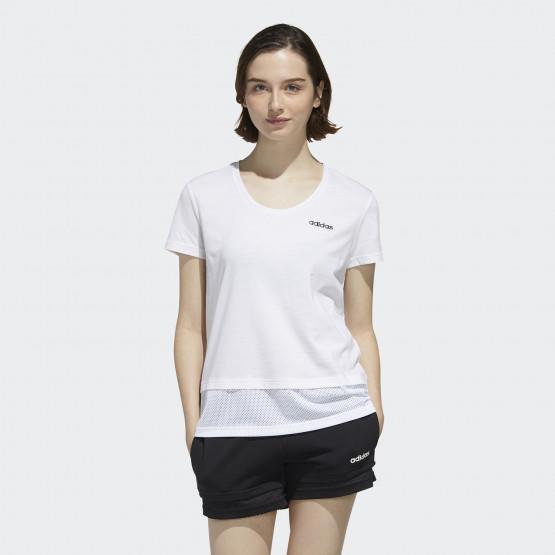 adidas Performance Essentials Material Mix Γυναικεία Μπλούζα